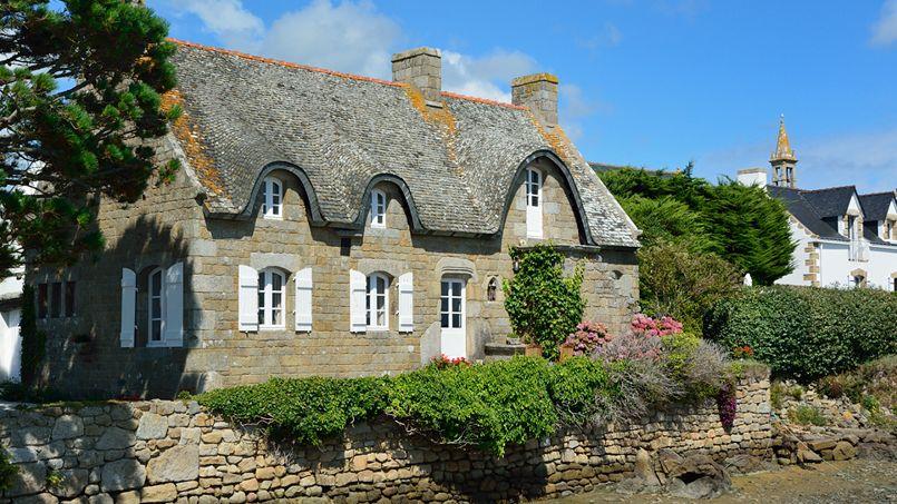 Une maison traditionnelle bretonne. Crédit: Jean-Jacques Bujot (Flickr).