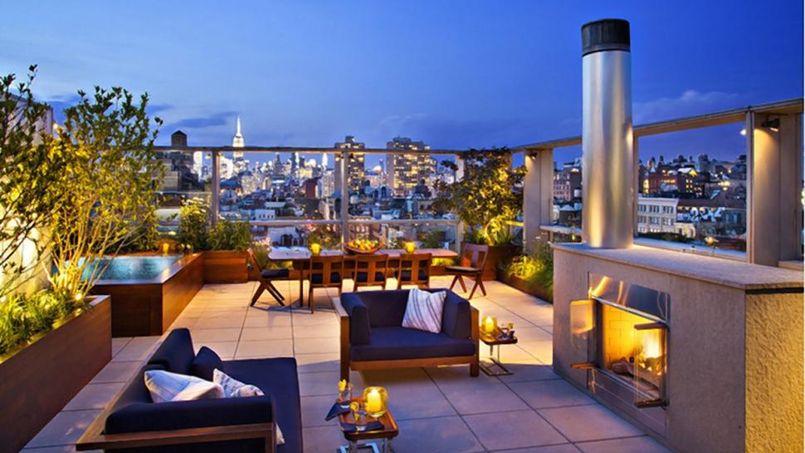 Un dirigeant d airbnb compte vendre son appartement 24 - Immobilier de luxe penthouse manhattan ...