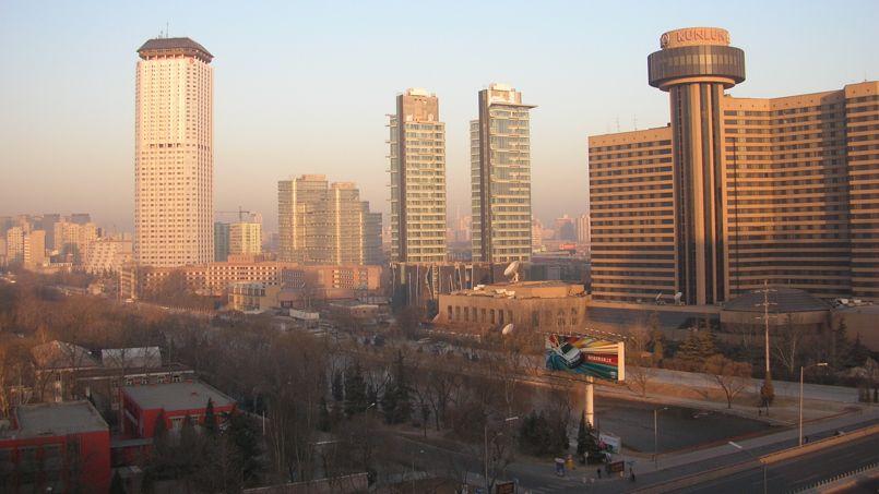 Pékin, la capitale chinoise. Crédit: Wikimédia.