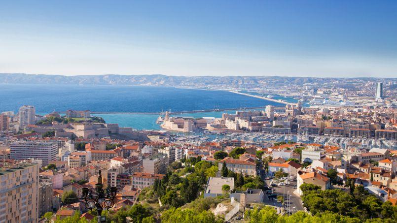 À Marseille, le prix moyen d'une location recule de 5,2% sur un an.