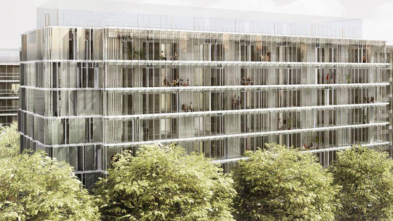 Les futurs locataires paieront entre 6,5 et 12,5 euros le m² (hors charges) de loyer par mois. Crédits photo: Anne Demians architecture