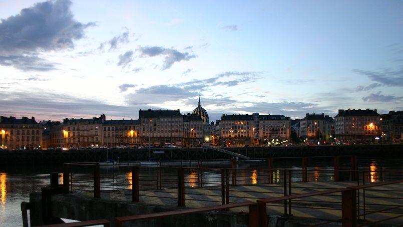 La ville de Nantes, sur les bords de Loire. Crédit: Olivier Letourneux. (Flickr).