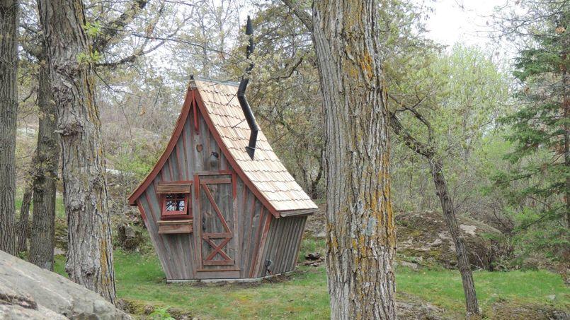 Les cabanes de jardin n'ont pas échappé à l'impôt en 2015. Crédit: Rustic Way