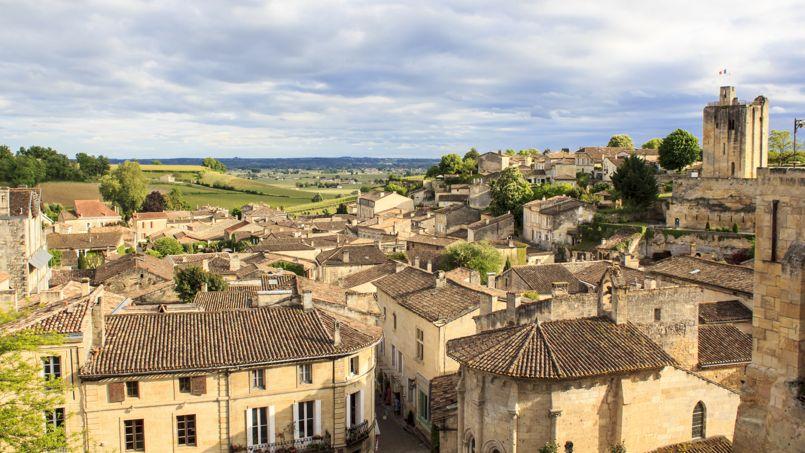 C'est en région Aquitaine que les prix ont le plus baissé en 2015 (ici, Saint-Emilion).