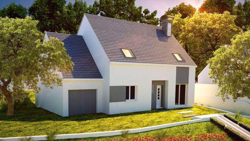 Cette maison en b ton euros se construit en 2 mois for Maison en plaque de beton