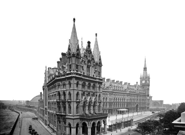 Voyage dans le temps saint pancras joyau de l for Architecture victorienne