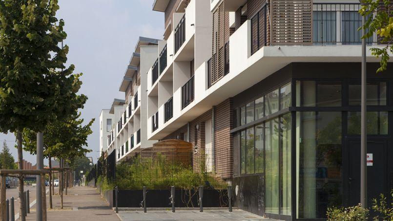 Des logements sociaux, aux Mureaux. Crédit: Conseil départemental des Yvelines.