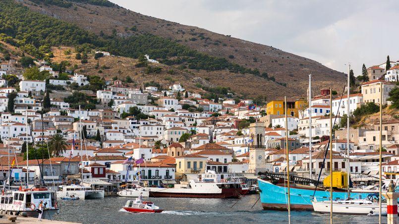 Les îles Saroniques, en Grèce. Crédit: Gilles Messian.