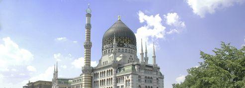 À Dresde, la ville de Pegida, découvrez cette usine en forme de mosquée