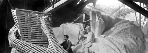 Il y a 131 ans... derniers préparatifs parisiens pour la Statue de la Liberté
