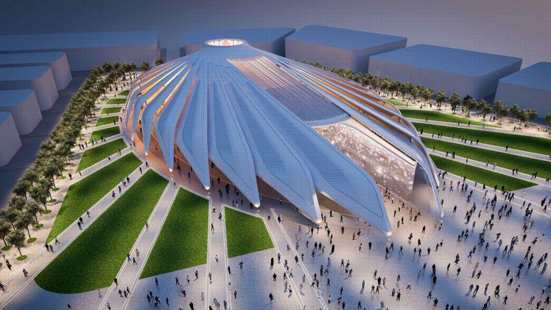 Le Pavillon des Emirats Arabes Unis. Crédit photo: Santiago Calatrava