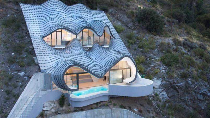 D couvrez cette maison troglodyte ultramoderne for Architecture troglodyte