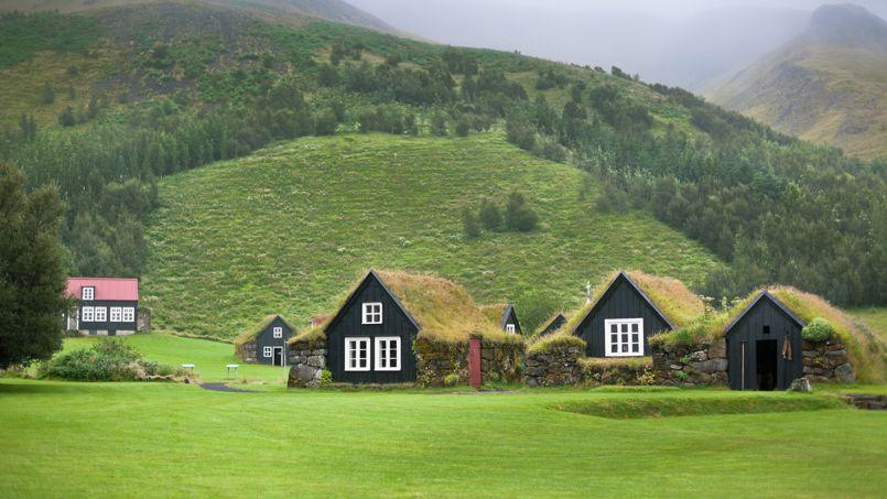 L islande pays des petites maisons sous les prairies - Maison de l islande paris ...