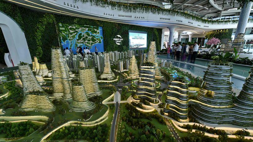 Super Forest City», la ville futuriste à 42 milliards de dollars JN43