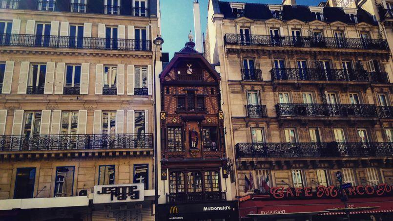 Voici le plus vieux restaurant mcdonald s de paris - Restaurant saint lazare paris ...