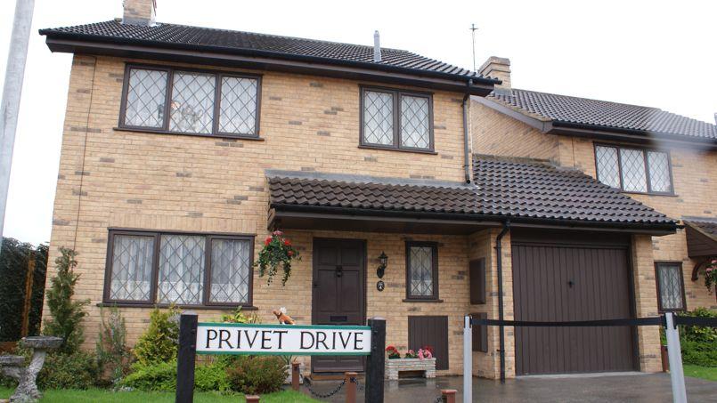 4 Privet Drive.