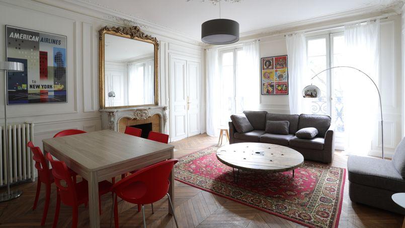 Voici l'un des appartements loués après aménagement. Crédit photo: Flatnyou