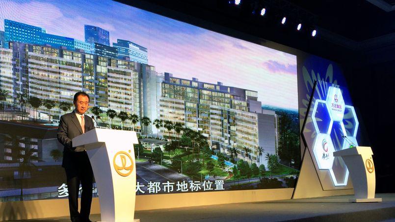 Wang Jianlin, patron du conglomérat Wanda.