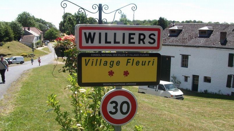 Le village de Williers dans les Ardennes, à deux pas de la frontière franco-belge. Crédit photo: DR