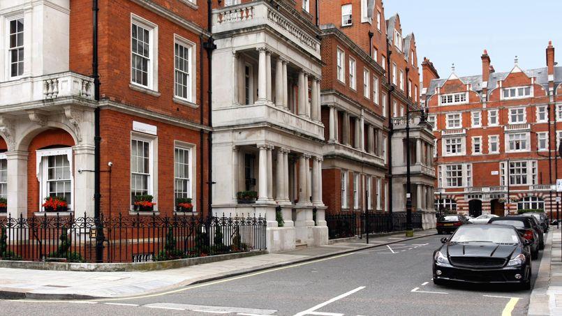 Le quartier luxueux de Mayfair  <i>(centre de Londres)</i> a vu ses ventes résidentielles fortement chuter cette année.