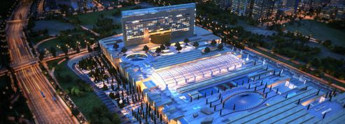 Des Français sur le chantier de ce méga-centre commercial iranien