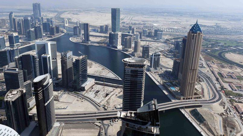 Vue aérienne du nouveau canal.