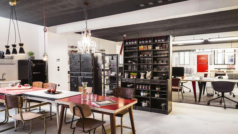 Bureaux nouvelle génération au Garage central, dans le 10e arrondissement de Paris.