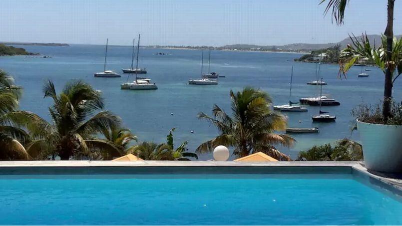 Villa «Bella Pinel» à Saint-Martin. Capture d'écran de l'offre sur Airbnb.fr