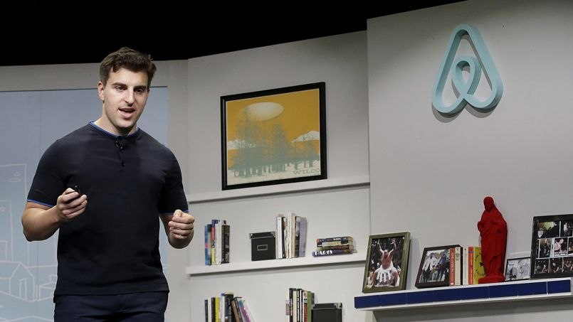 Brian Chesky, le patron d'Airbnb.