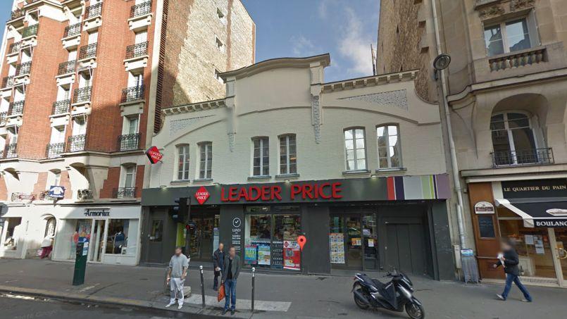 Capture d'écran de l'immeuble du 272, rue de Vaugirard (Paris XVe). Google Street View