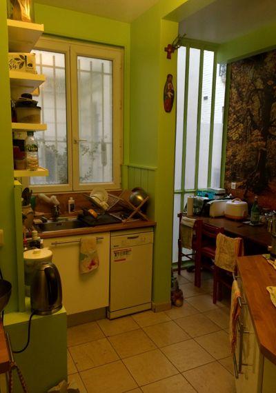 Avant apr s comment r veiller un appartement haussmannien for Organisation petite cuisine