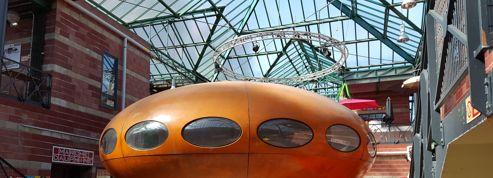 Une soucoupe volante habitable pour fans de science-fiction rétro