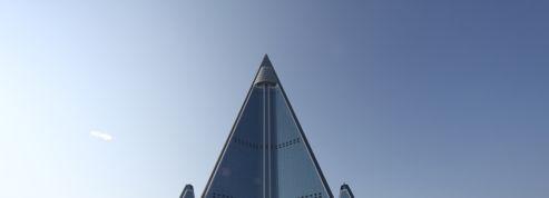 En Corée du Nord, cette pyramide fantôme attend son nouvel avenir