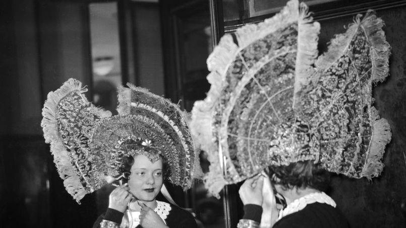 Une Catherinette en 1937.