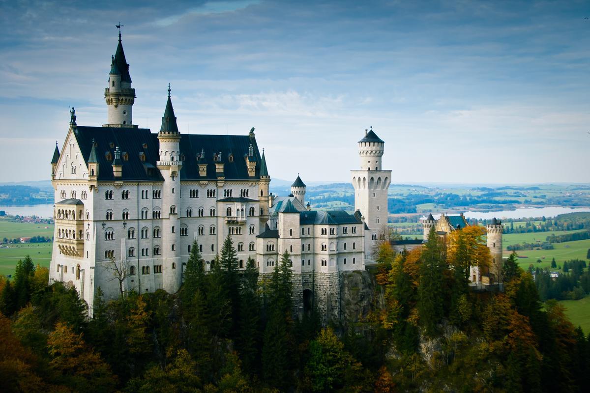 Dix endroits romantiques pour faire une demande en mariage Le-chateau-de-neuschwanstein