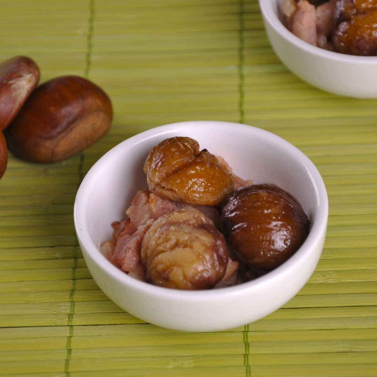 Recette ch taignes aux lardons cuisine madame figaro - Madame figaro cuisine ...