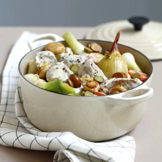 Poule au pot une recette viande cuisine le figaro madame - Cuisine poule au pot ...