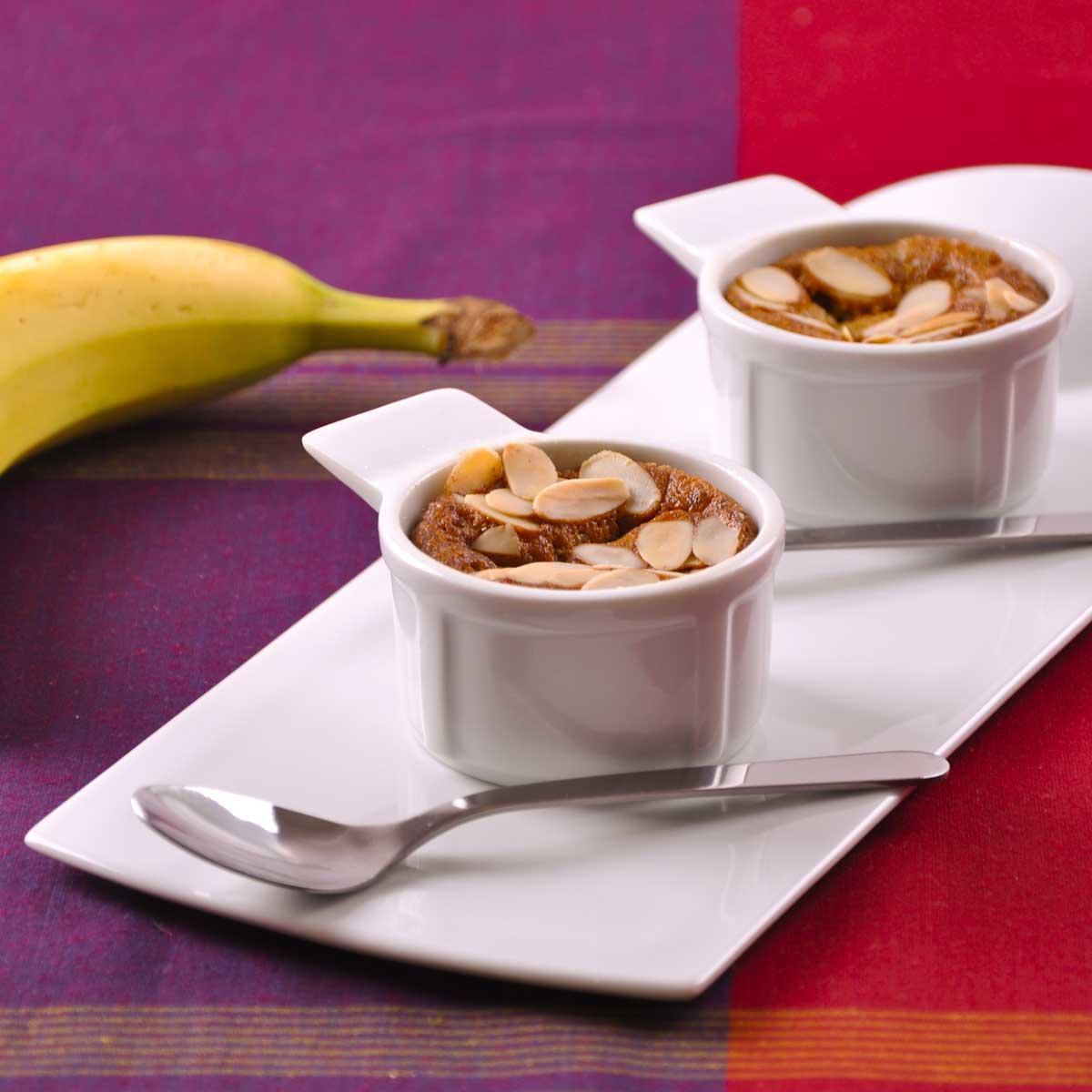 Recette g teau la banane sans gluten ni uf ni lait cuisine madame figaro - Gateau a la banane sans oeuf ...