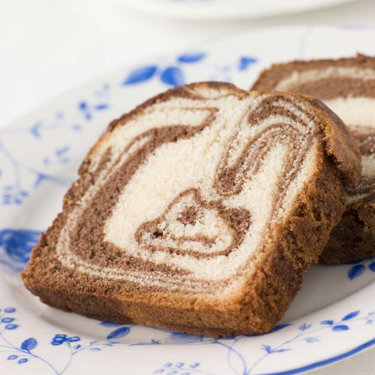 ... marbré au chocolat - une recette Dessert - Cuisine  Le Figaro Madame