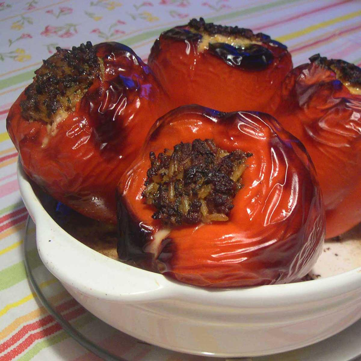 Recette poivrons farcis cuisine madame figaro - Madame figaro cuisine ...