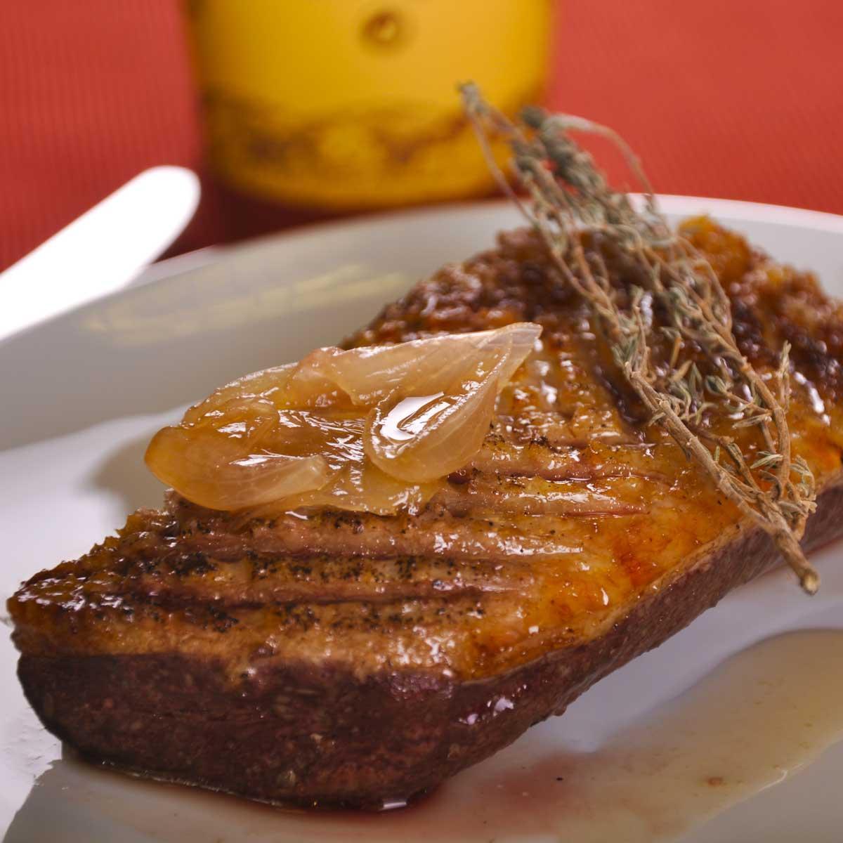 Recette magret de canard au miel cuisine madame figaro - Cuisiner les aiguillettes de canard ...