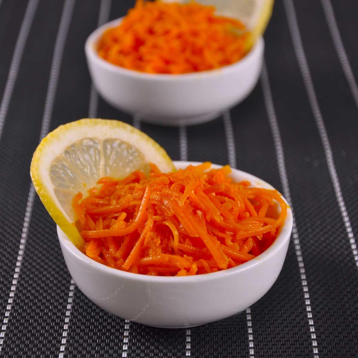 recette salade de carottes r p es au citron cuisine madame figaro. Black Bedroom Furniture Sets. Home Design Ideas