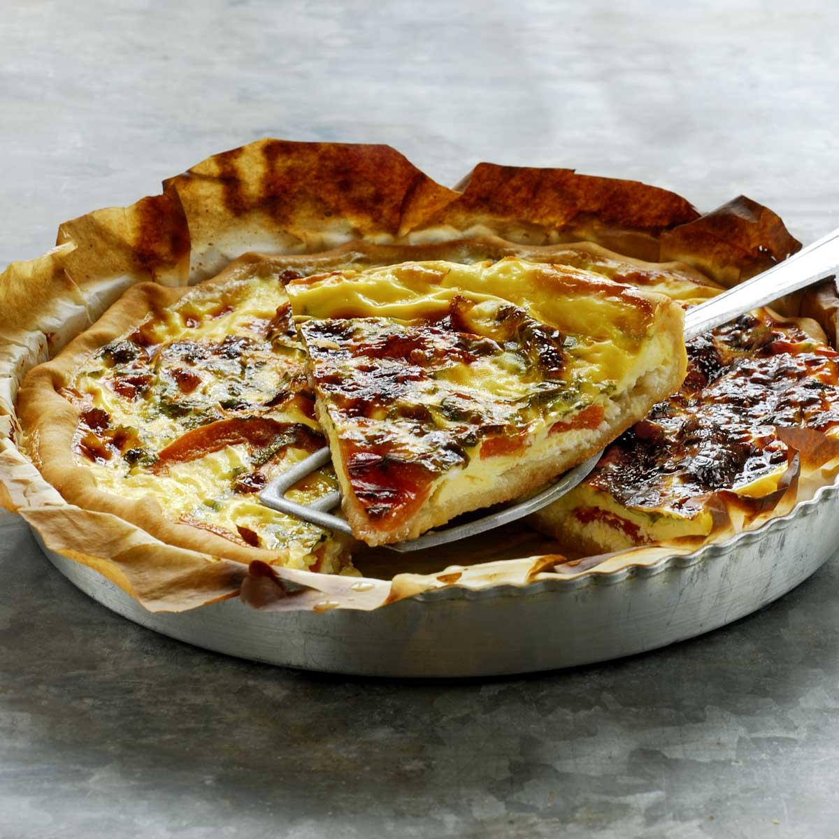 recette quiche lorraine cuisine madame figaro