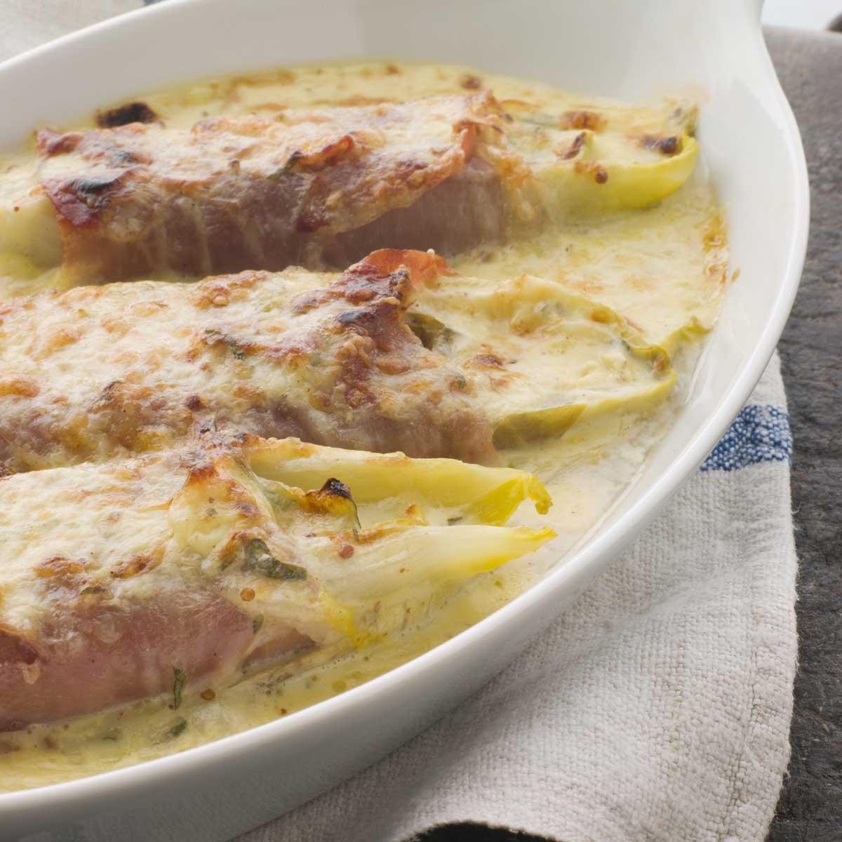 endives au jambon gratinees au parmesan