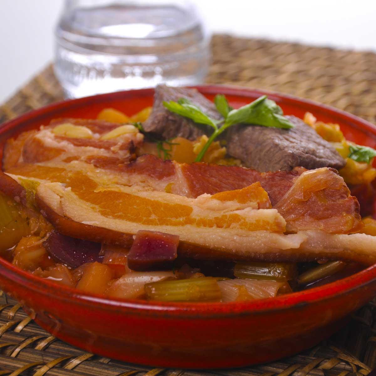 Bortsch la russe une recette d couverte cuisine le for Cuisine russe