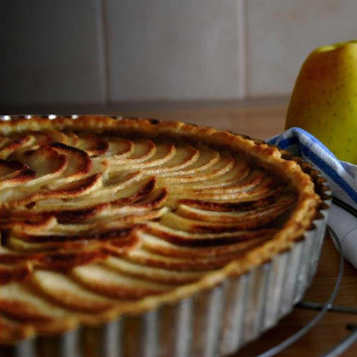 Recettes Tarte Aux Pommes: Recette Tarte Aux Pommes