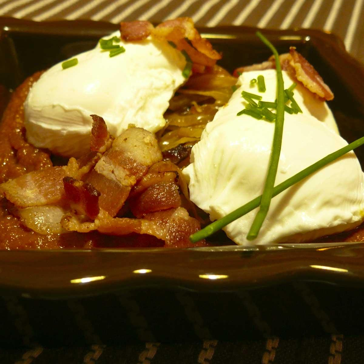 Recette les ufs en meurette de bernard loiseau cuisine for Cuisine bernard