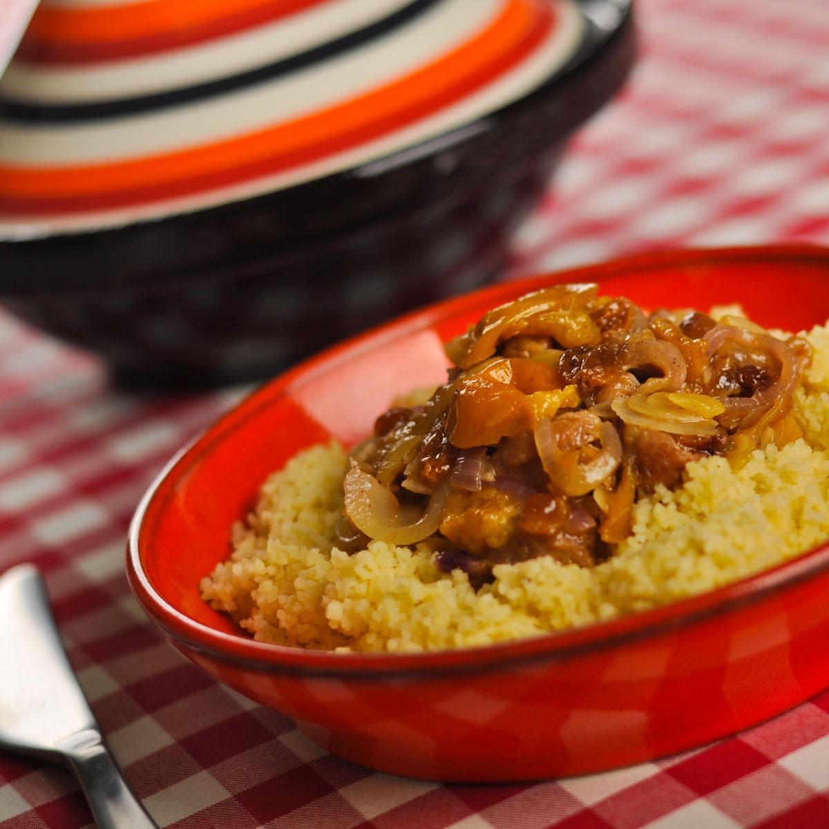 Recette tajine de poulet aux mirabelles cuisine madame for Recette poulet