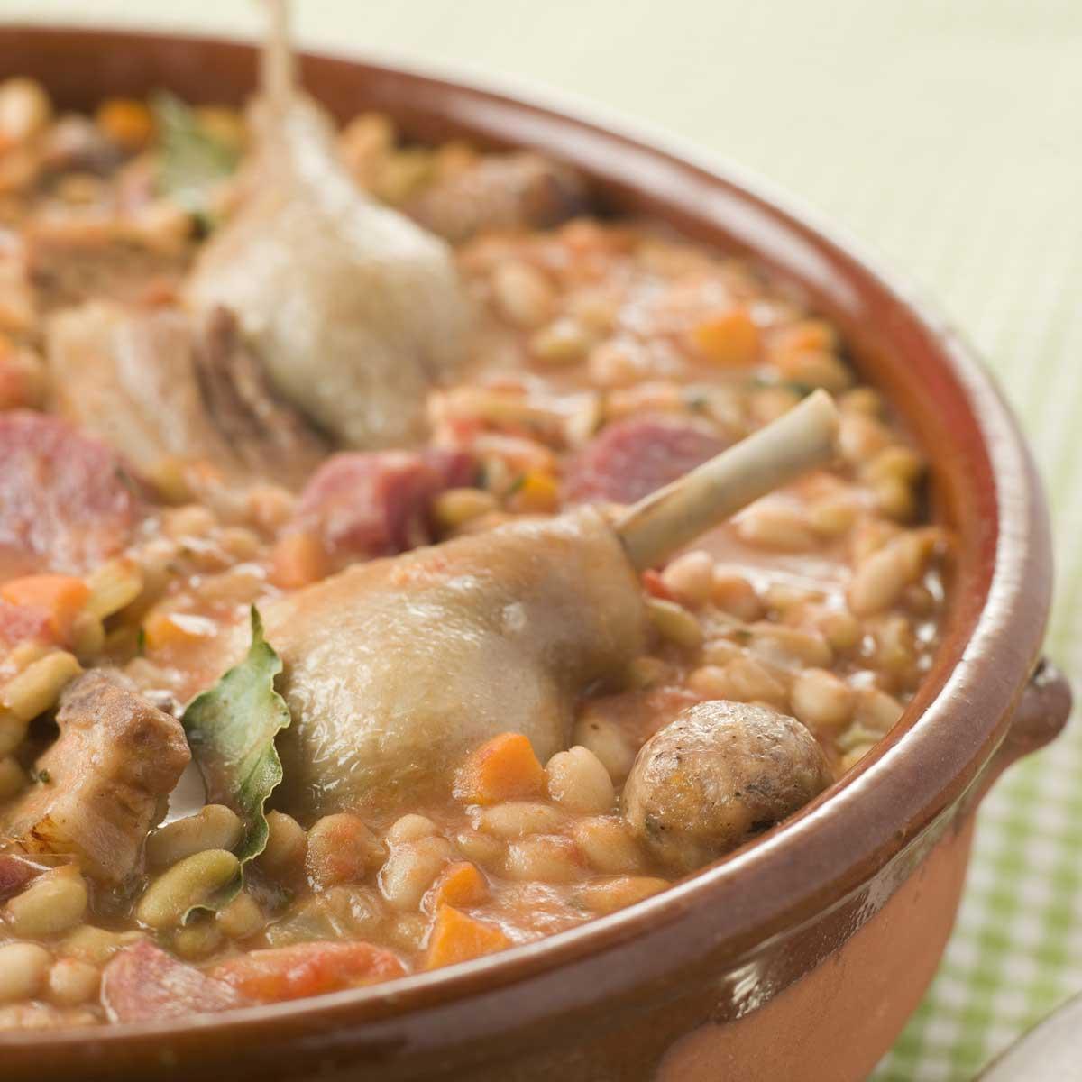 Le cassoulet une recette terroir cuisine le figaro - Cuisine belge recettes du terroir ...