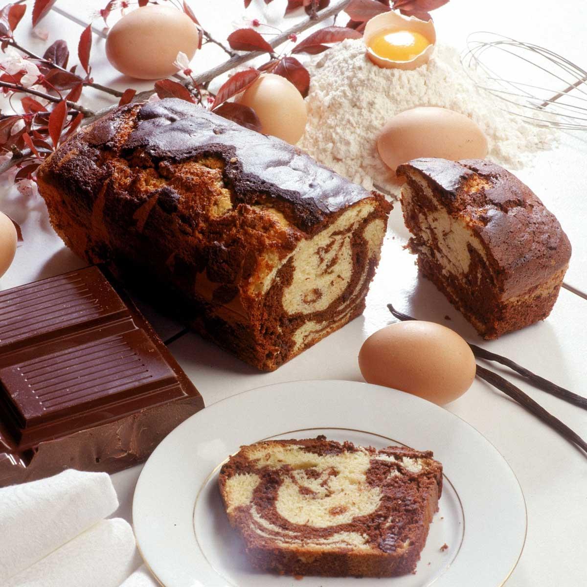 Gâteau marbré - une recette Gâteau - Cuisine  Le Figaro Madame